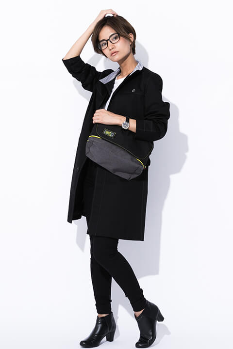 主人公、ペルソナ4 モデル コート&メッセンジャーバッグ&腕時計&メガネ