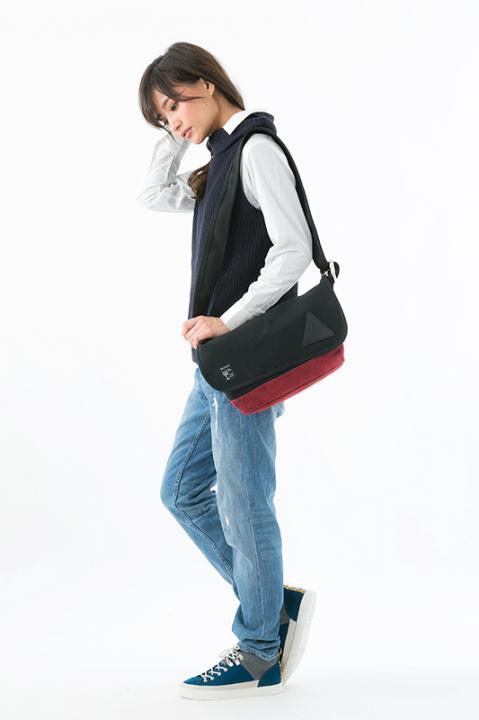 黒子のバスケ×アノニムクラフツマンデザイン 桐皇学園高校 モデル メッセンジャーバッグ バッグ 黒子のバスケ