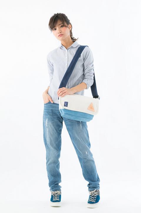 黒子のバスケ×アノニムクラフツマンデザイン 洛山高校 モデル メッセンジャーバッグ バッグ 黒子のバスケ