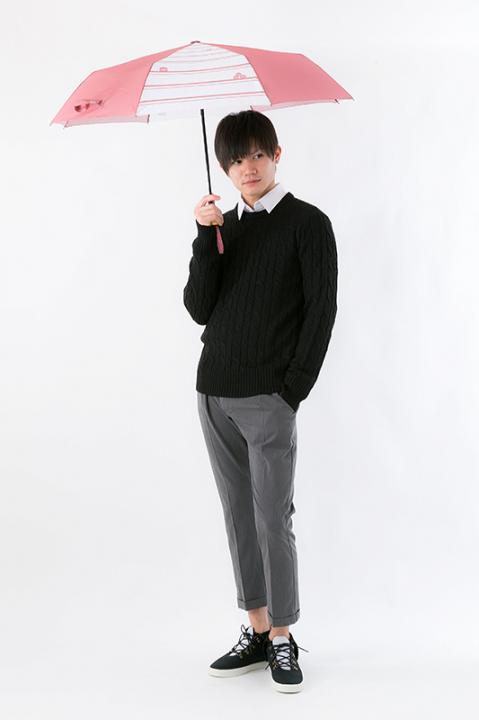 火神大我 モデル 折りたたみ傘 黒子のバスケ