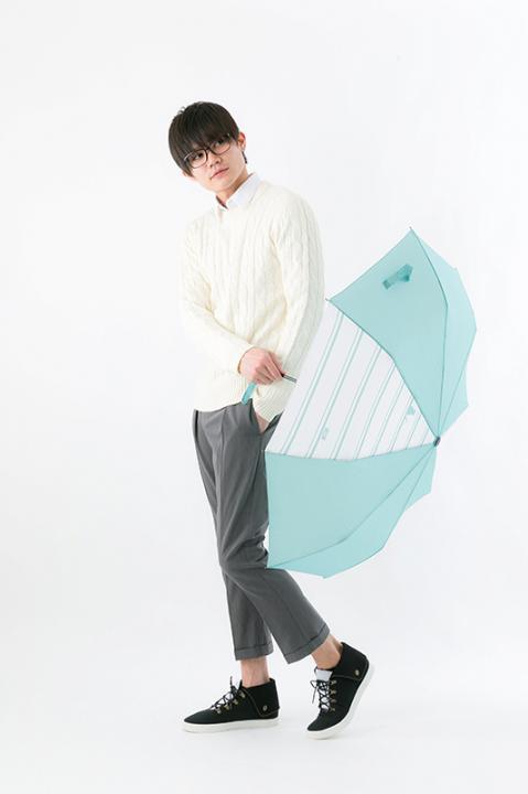 緑間真太郎 モデル 折りたたみ傘 黒子のバスケ