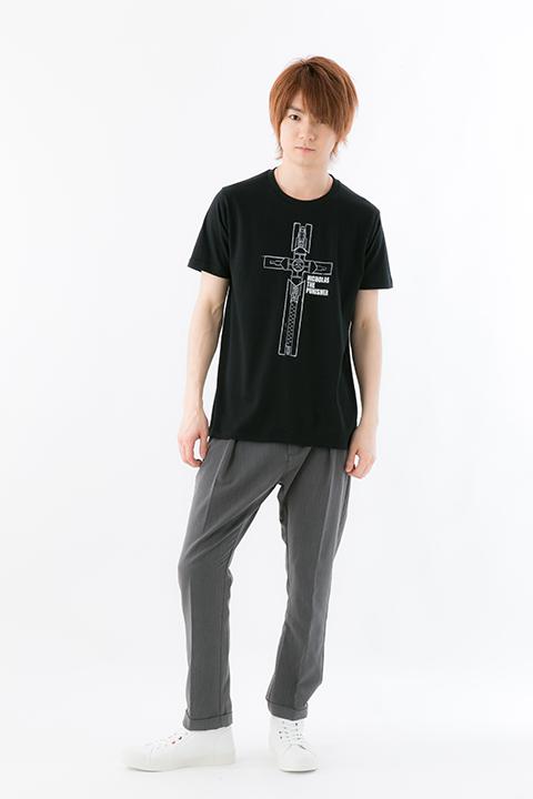 トライガン ニコラス・D・ウルフウッド モデル Tシャツ スマホケース