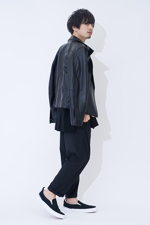 ガールズ&パンツァー 黒森峰女学園 モデル ライダースジャケット