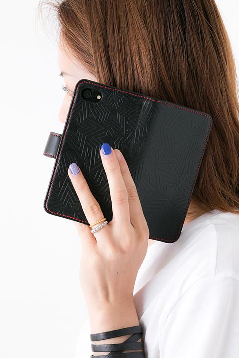 ペルソナ5 モデル(長財布&カードケース 名刺入れ&キーホルダー&iPhone6・6s/iPhone7兼用サイズ 手帳型スマートフォンケース スマホケース)