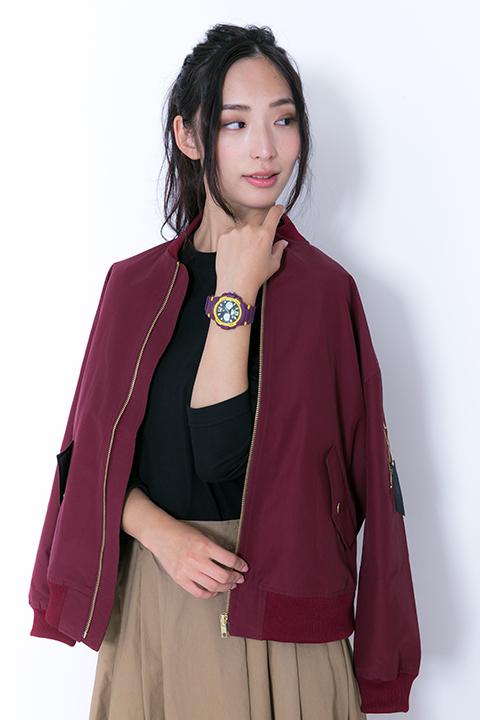 銀魂 高杉晋助 モデル ブルゾンジャケット&カットソー&バッグ&スニーカー&腕時計