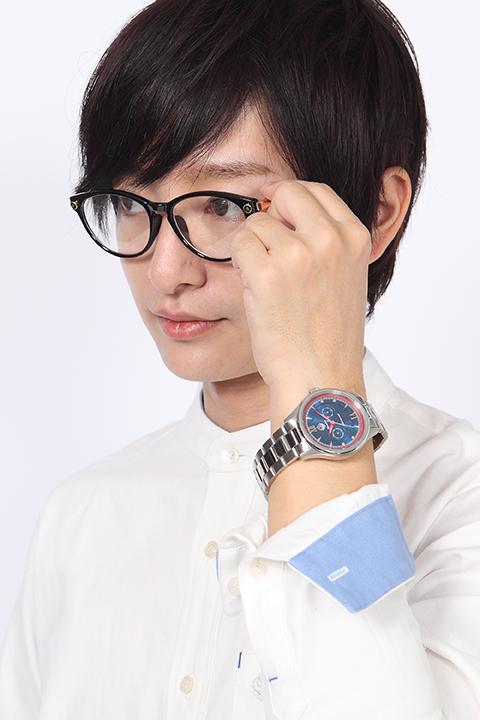 天元突破グレンラガン カミナ モデル シャツ&メガネ&腕時計