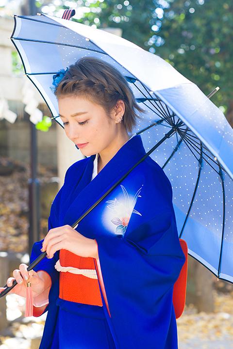 刀剣乱舞-ONLINE- 小夜左文字 モデル 傘