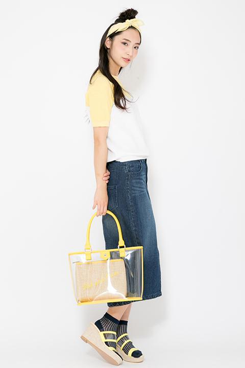 おそ松さん 十四松 モデル トップス&バッグ&サンダル