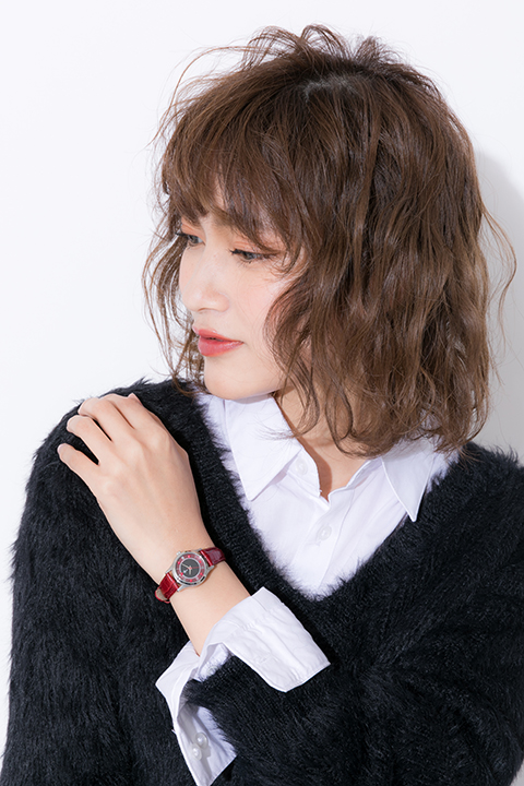 Fate/stay night[Heaven's Feel] 遠坂 凛 モデル コート&バッグ&ブーティ&腕時計