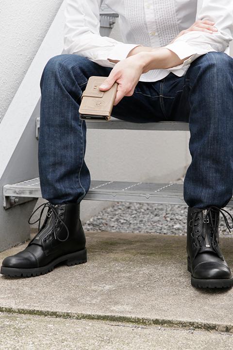 ガールズ&パンツァー 最終章 黒森峰女学園 モデル ブーツ