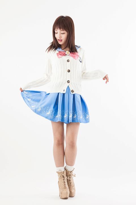美少女戦士セーラームーン オリジナル裾プリントスカート