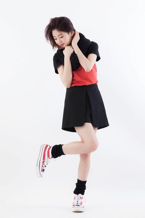 劇場版 K MISSING KINGSツートンカラーTシャツ八田美咲モデル
