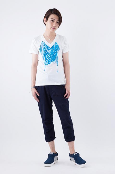 銀時ストール柄Tシャツ Tシャツ 銀魂