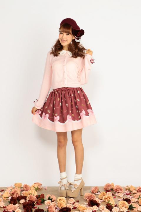 クッキーリボンスカート スカート 魔法少女まどか☆マギカ