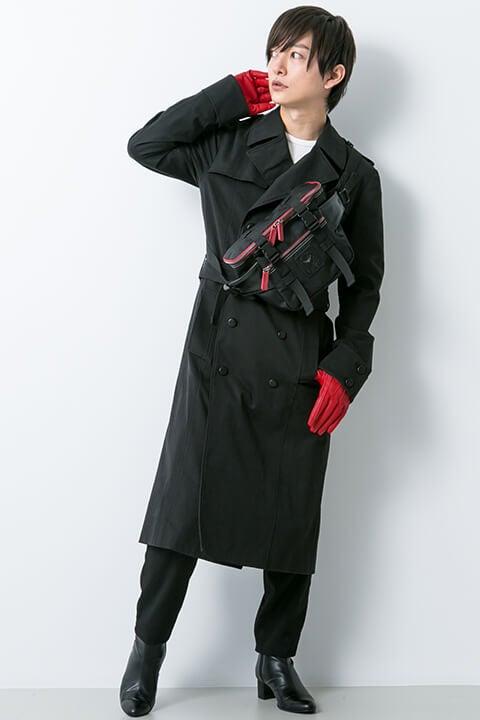 ジョーカーモデル コート・ボディバッグ・ブーツ・手袋・腕時計 ペルソナ5