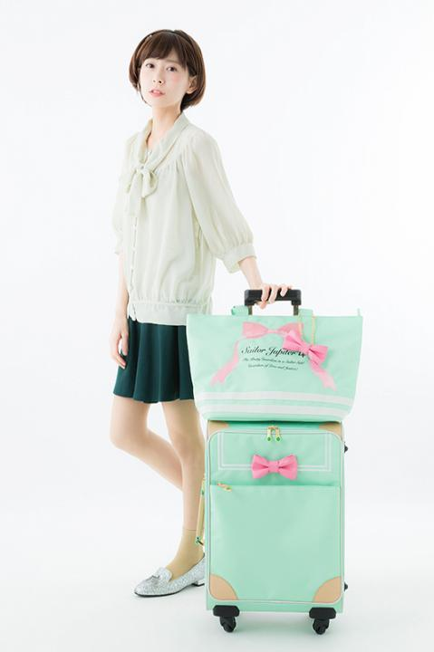 美少女戦士セーラームーン キャリーオンバッグ セーラージュピターモデル トートバッグ