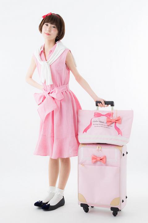 美少女戦士セーラームーン キャリーオンバッグ セーラーちびムーンモデル トートバッグ