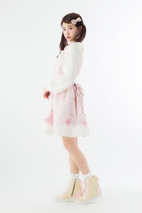 鹿目まどかモデルインヒールスニーカー 魔法少女まどか☆マギカ