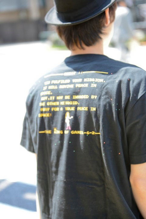 METROID オープニング・マルチエンディング Tシャツ メトロイド