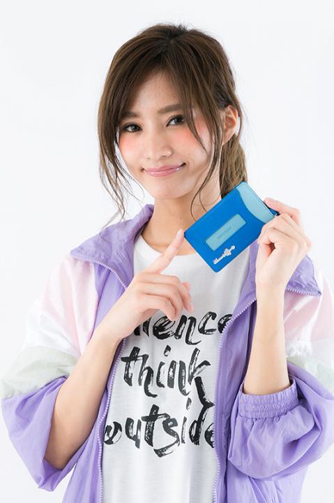 アオト モデル パスケース カードケース ディバインゲート