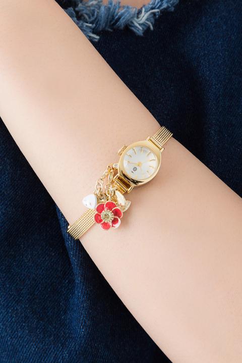 絆 モデル スイングチャームウォッチ 腕時計 フルーツバスケット