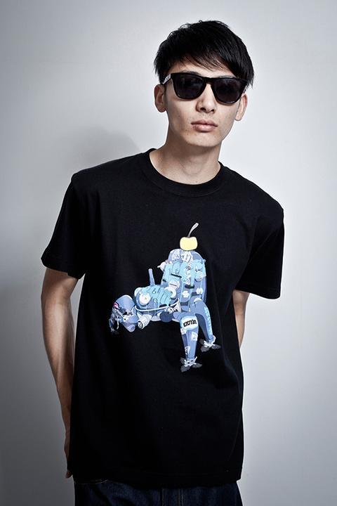 攻殻機動隊S.A.C.シリーズ TACHIKOMA ICECREAM Tシャツ