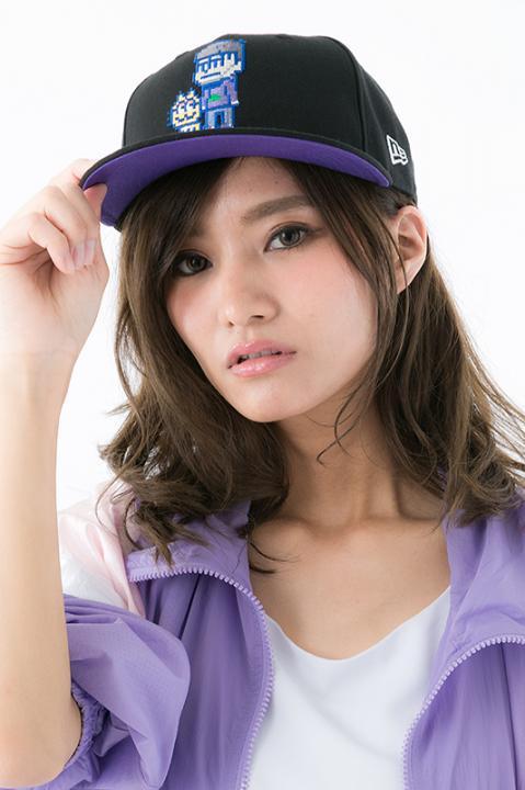 NEW ERA® 9FIFTY™ CAP×おそ松さん 一松 モデル キャップ 帽子