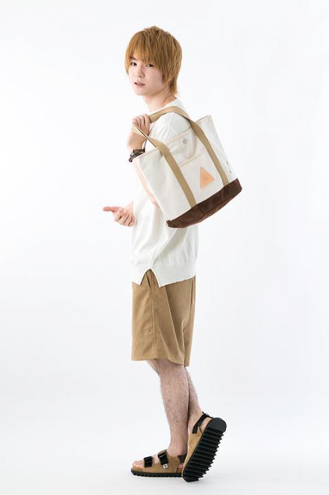 進撃の巨人xアノニムクラフツマンデザイントートバッグ エレン モデル バッグ ブレスレット