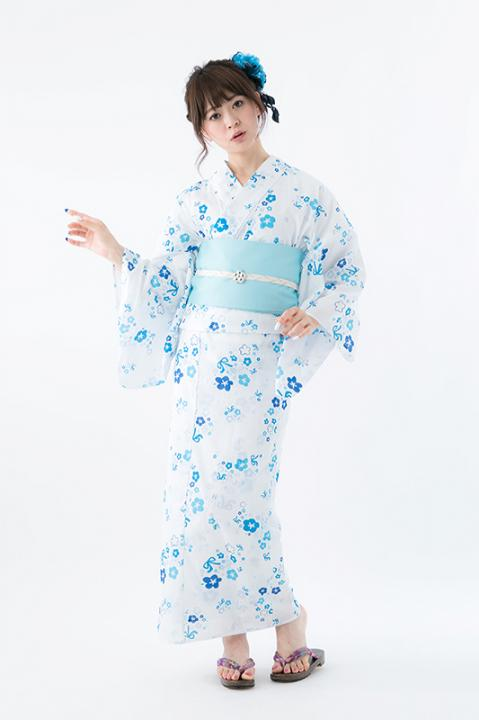 本間芽衣子(めんま)モデル 浴衣 あの日見た花の名前を僕達はまだ知らない。
