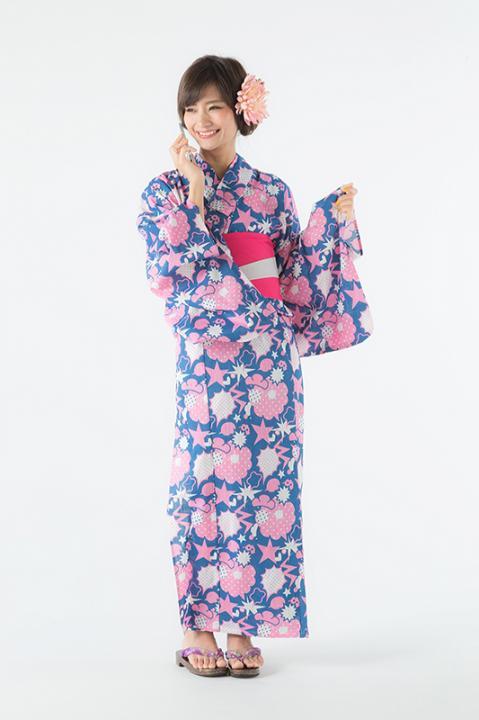 トド松 モデル 浴衣 巾着 おそ松さん