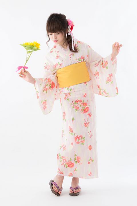 鹿目まどか モデル 浴衣 魔法少女まどか☆マギカ