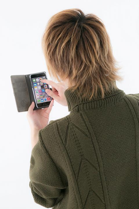 甲鉄城のカバネリ モデル iPhone5・5s・SE用 iPhone6・6s用 スマートフォンケース スマホケース