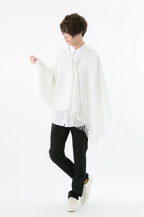 日番谷冬獅郎 モデル フード付きストール ストール BLEACH