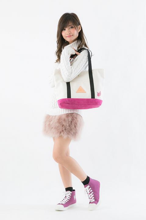 ハイキュー!!×アノニムクラフツマンデザイン トートバッグ バッグ 白鳥沢学園高校モデル