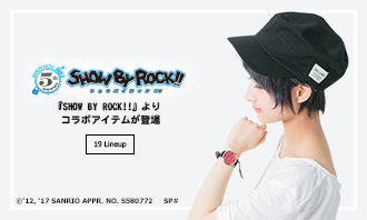 『SHOW BY ROCK!!』より新コラボアイテムが登場!