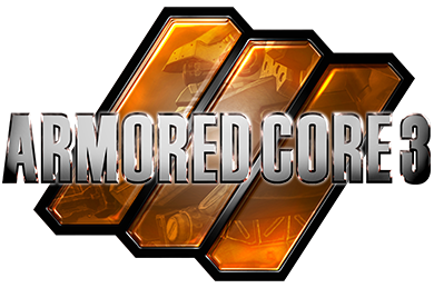 『ARMORED CORE 3』ロゴ
