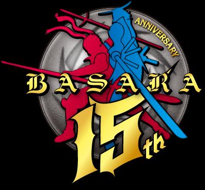 BASARA 15th ロゴ