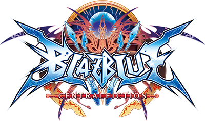 BLAZBLUE CENTRALFICTION ロゴ