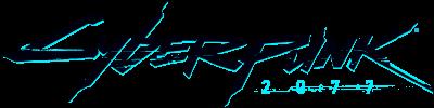 Cyberpunk 2077 ロゴ