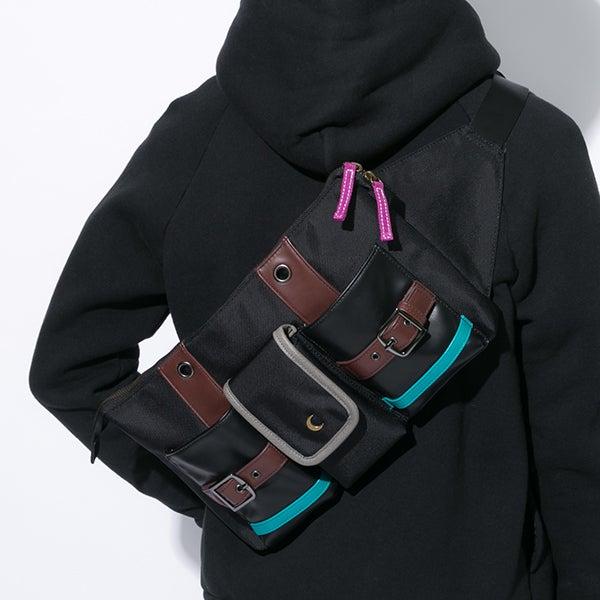 黒のアサシンモデル バッグ
