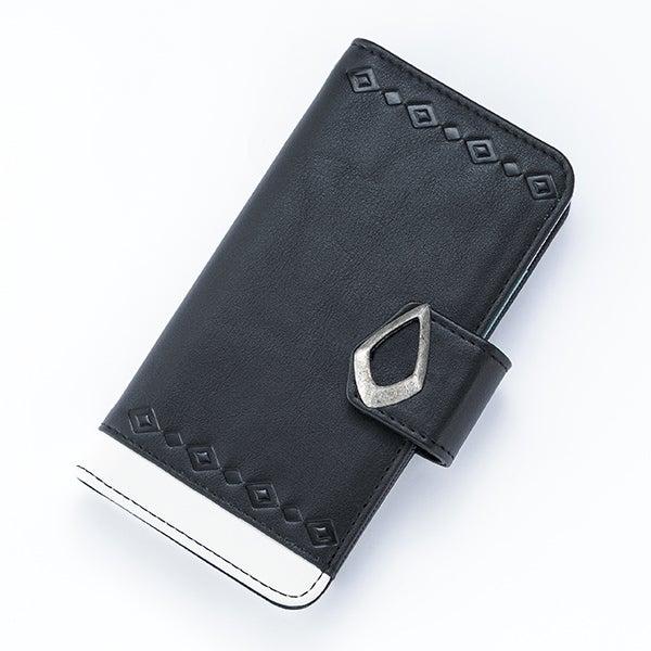 黒のアサシンモデル スマートフォンケース