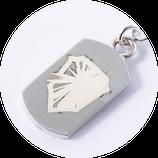 輝く盾の紋章 モデル ネックレス