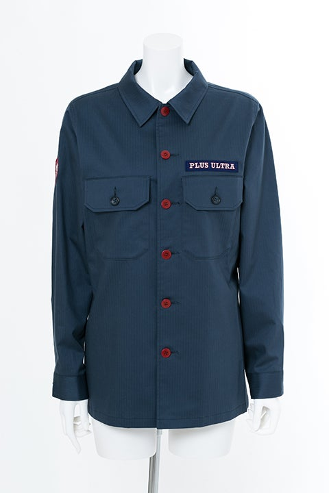 轟焦凍 モデル ミリタリーシャツ