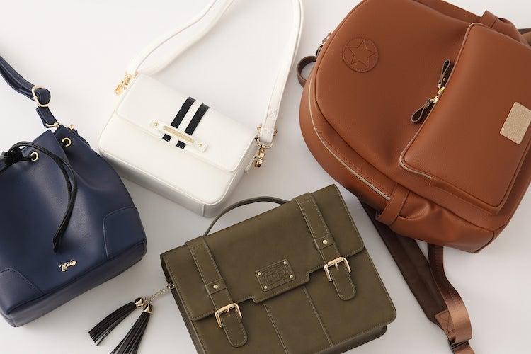 『ヘタリア World★Stars』より、8人をイメージしたバッグ&財布が登場♪