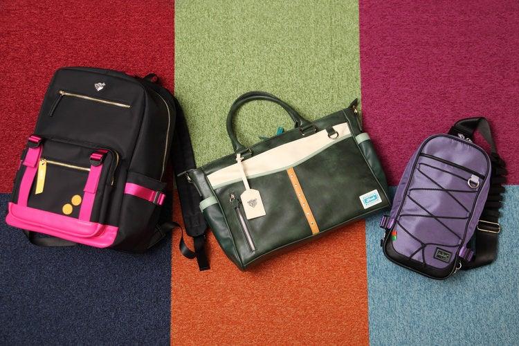 『アイドルマスター シンデレラガールズ』より、アイドルたちをイメージしたバッグ3種が登場!