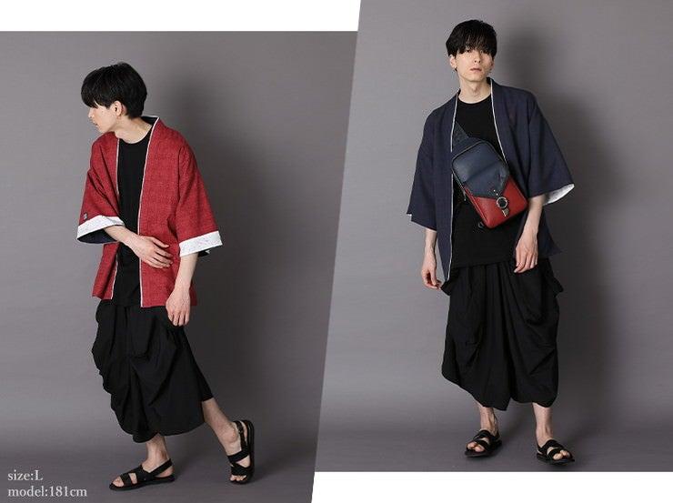 Cardigan size:L model:181cm