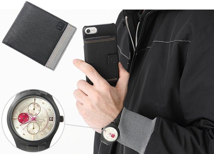 財布 スマホケース 時計