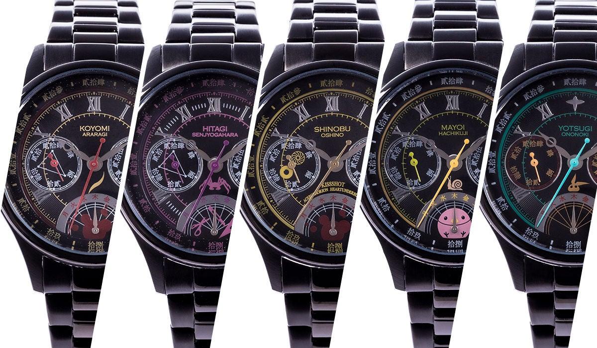 〈物語〉シリーズとのコラボが実現!腕時計、バッグ、財布の全15種が初登場