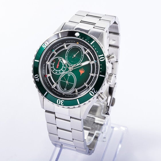 緑マナ モデル 腕時計