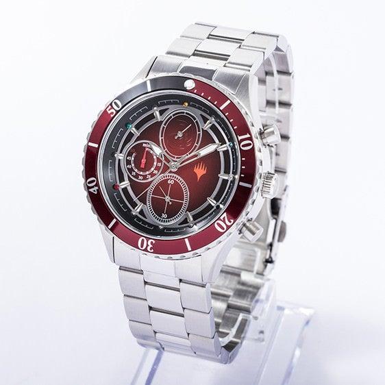 赤マナ モデル 腕時計